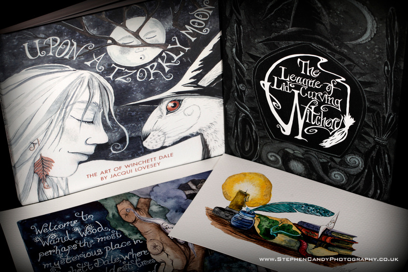 League of Lid-Curving Witchery with original art