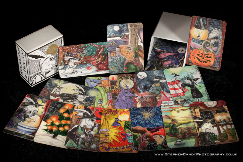 Dale Mail art cards and collector's box