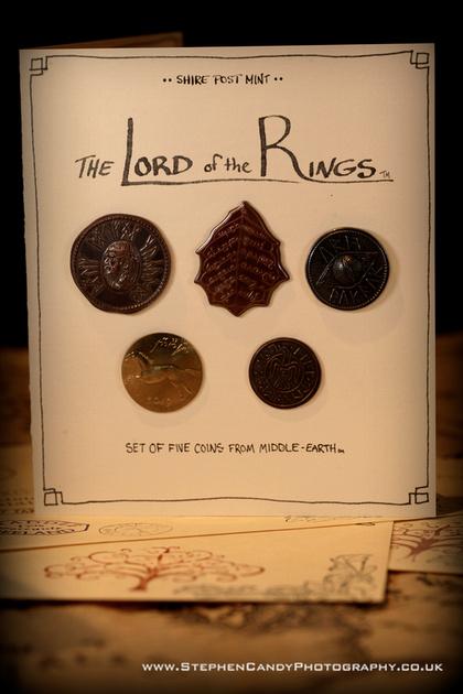 Shire Post Mint LOTR Coins Set 1