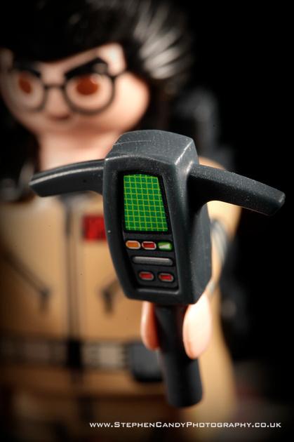 """Playmobil """"Movie"""" PKE Meter"""